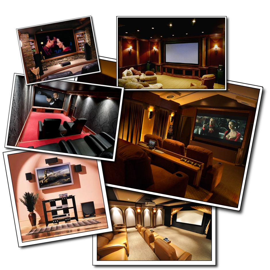 home theater collage Advanced Features