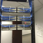 Commercial data cabling rack rear 150x150 Photo Gallery