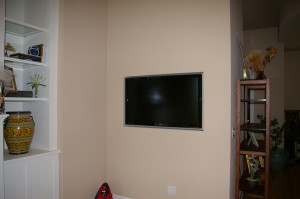 IMGP5123 300x199 Flush mounted flat panel